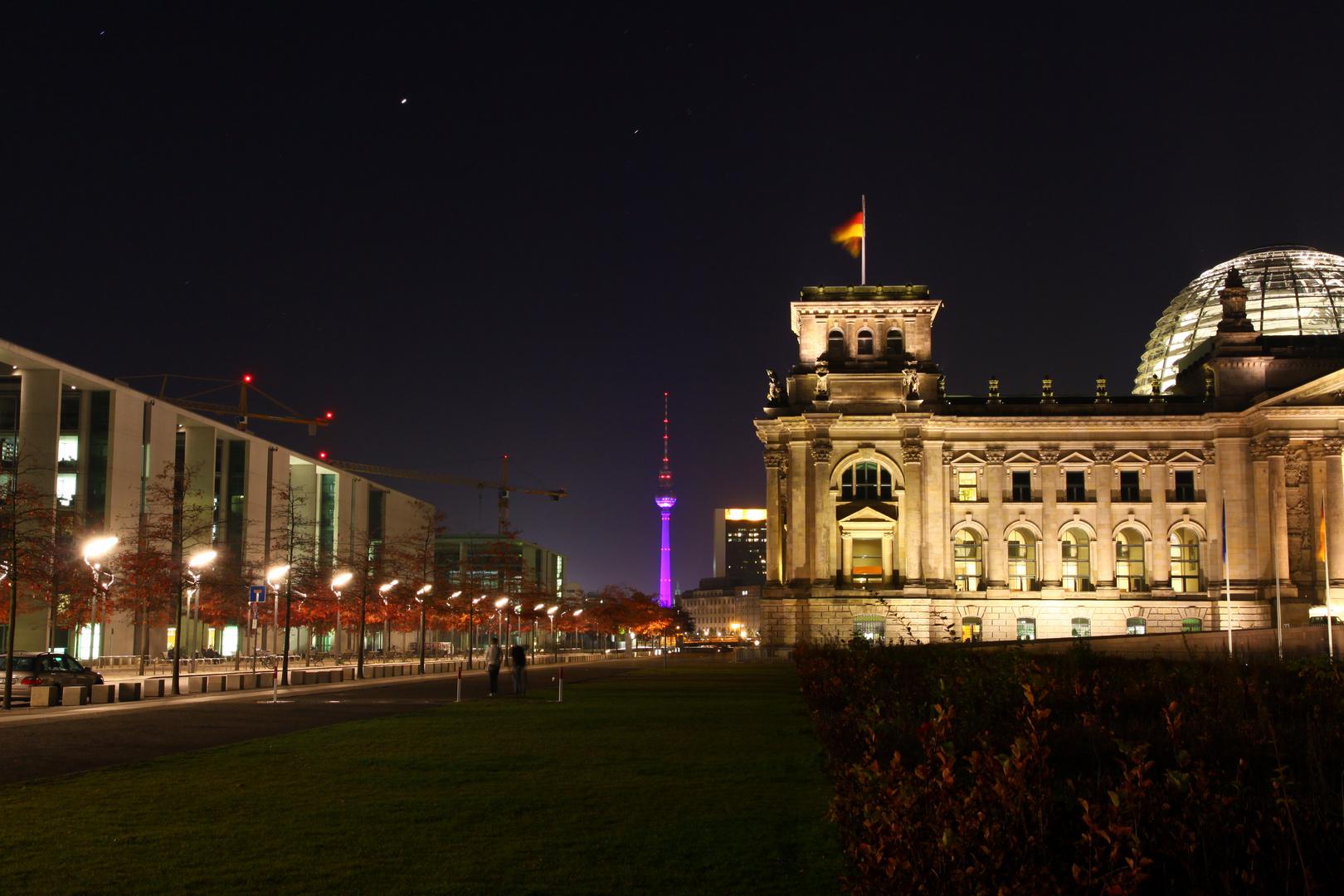 Berlin - Festival of Lights 2012 - Reichstag