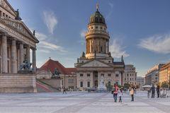 Berlin Gendarmenmarkt mit franzoesischem Dom