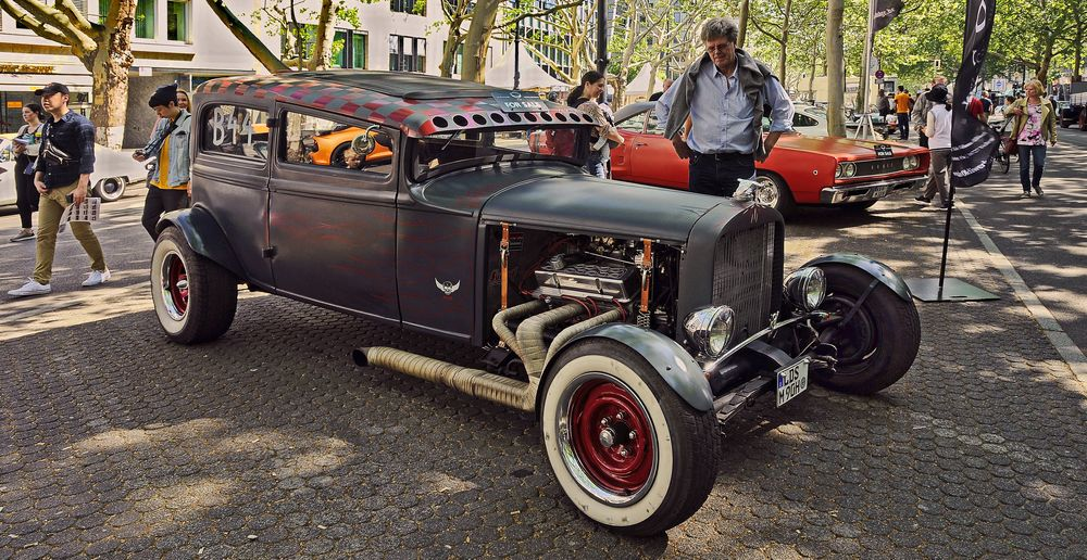 BERLIN   - HOT ROD CARS -