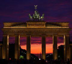 Berlin im Sonnenuntergang III