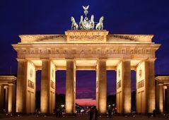 Berlin im Sonnenuntergang IV