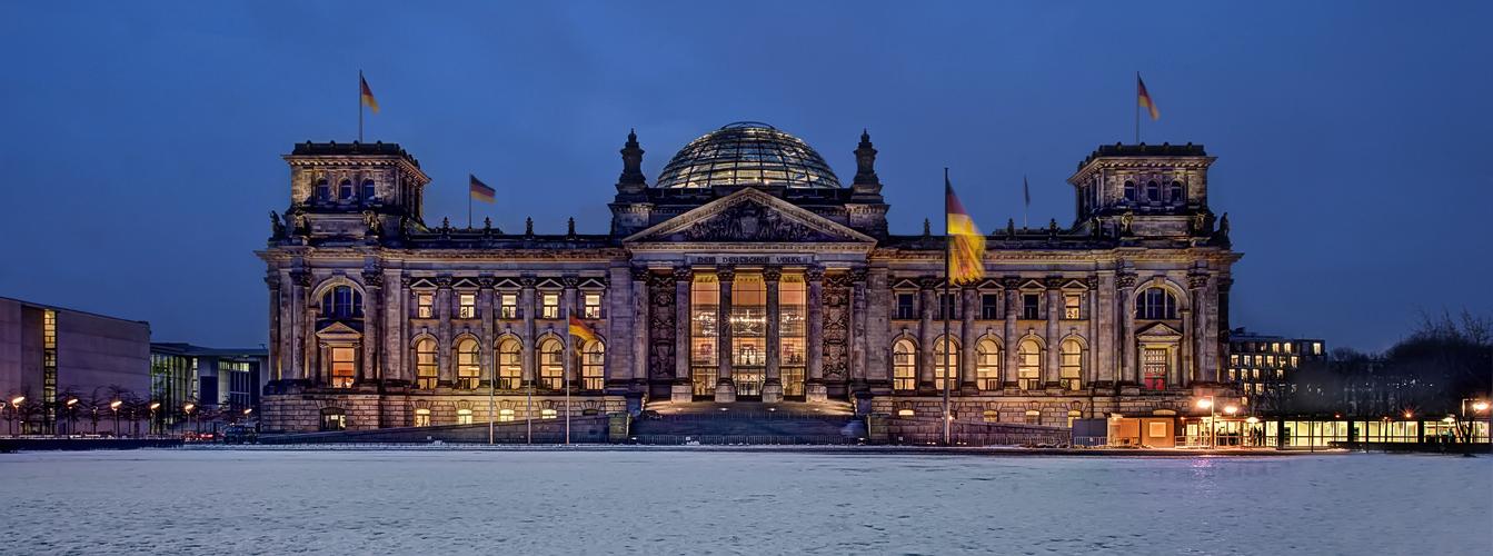 Berlin im Winter