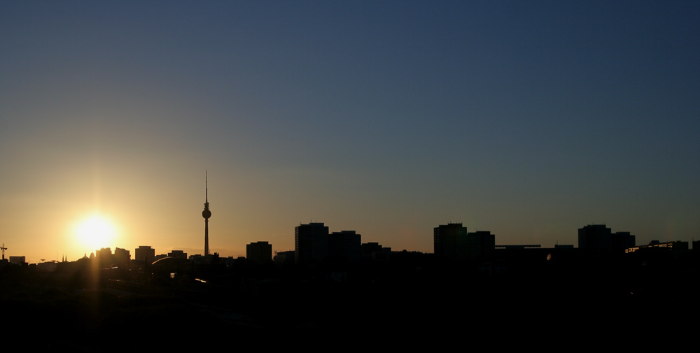 Berlin in der Abendsonne