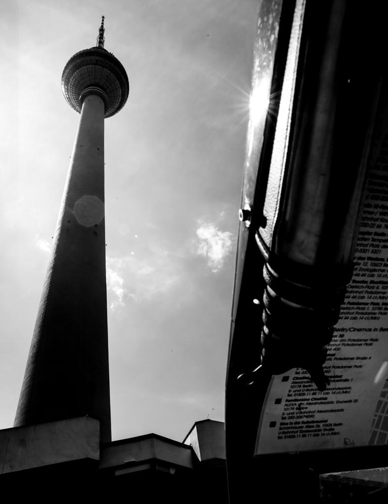Berlin, Juli 2013: am Fernsehturm