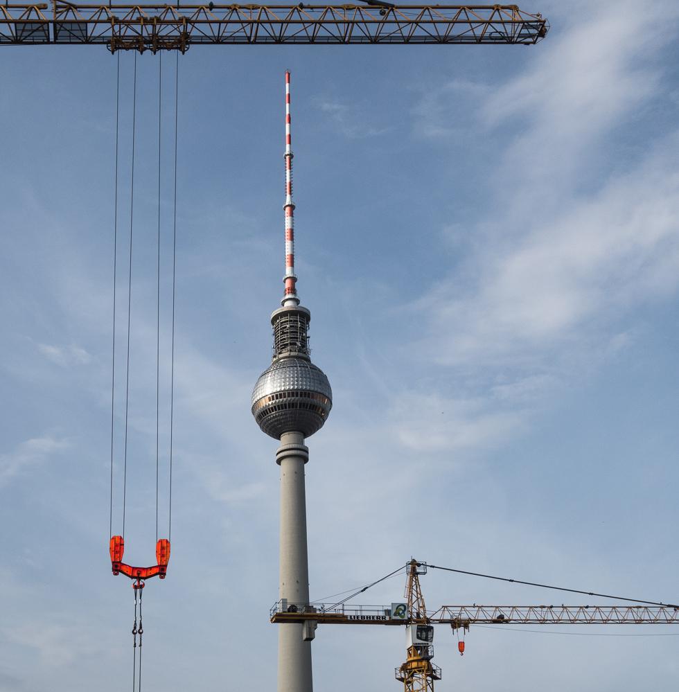 Berlin, Juli 2014. Fernsehturm