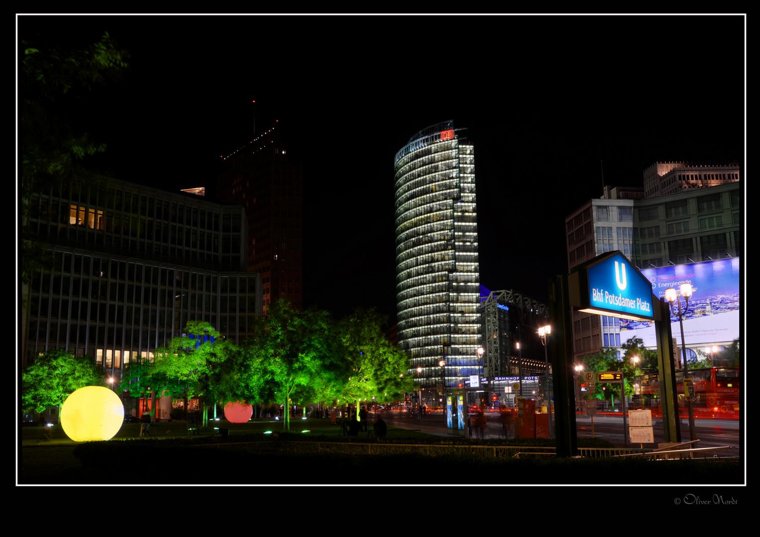 Berlin leuchtet 2013 - Leipziger Platz