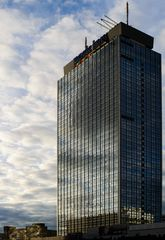 Berlin, Mai 2013: Park-Inn Hotel, Alexanderplatz