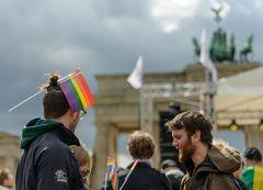 Berlin, Mai 2015: IDAHOT, Brandenburger Tor