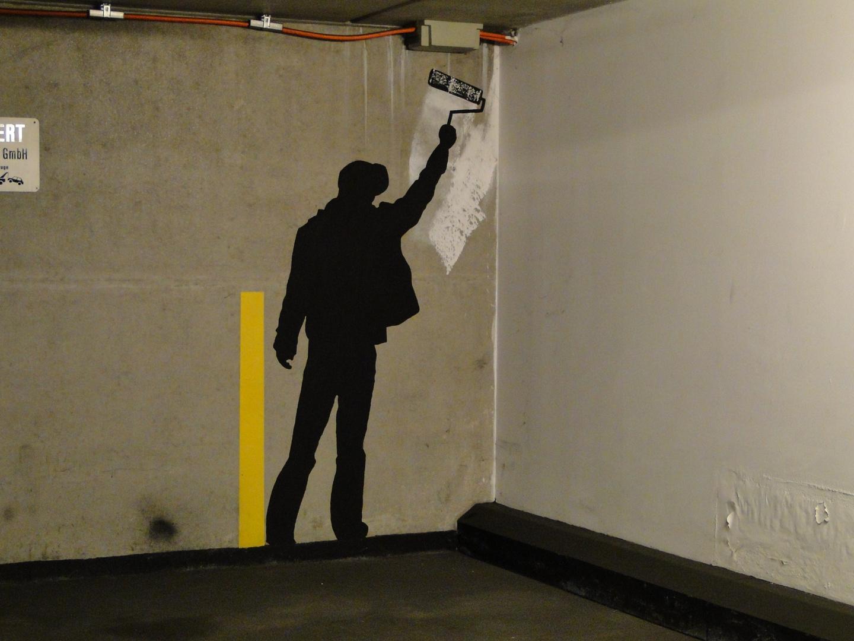 Berlin-Mitte, Parkhausmaler
