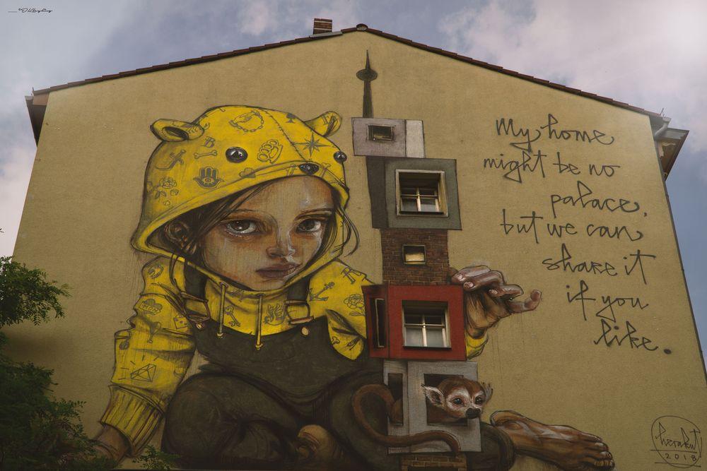 Berlin Mural Festival 2018