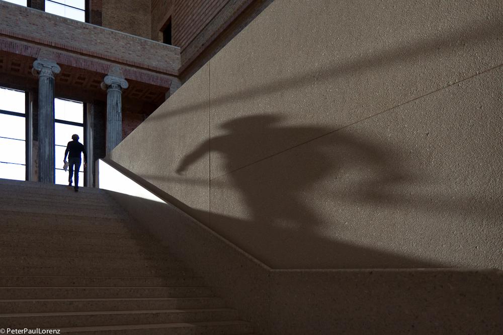 Berlin Neues Museum Schatten