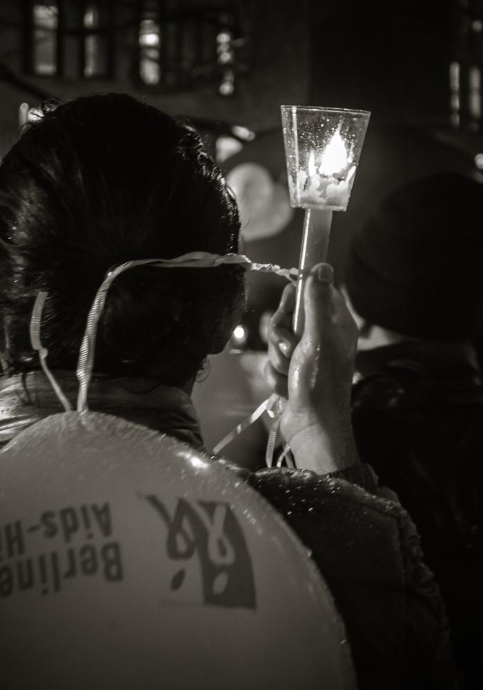 Berlin, November 2015: AIDS-Trauermarsch