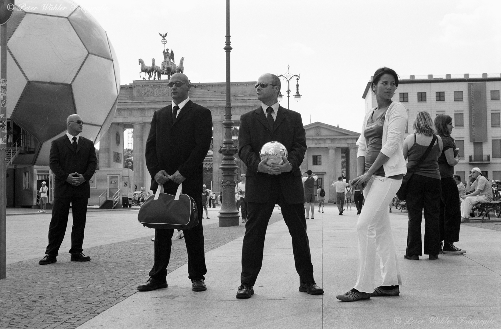 Berlin Pariser Platz / Fussball WM 2006