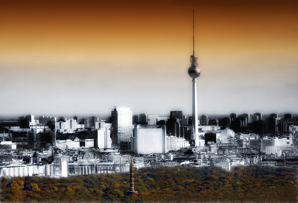 berlin skyline foto bild deutschland europe berlin bilder auf fotocommunity. Black Bedroom Furniture Sets. Home Design Ideas