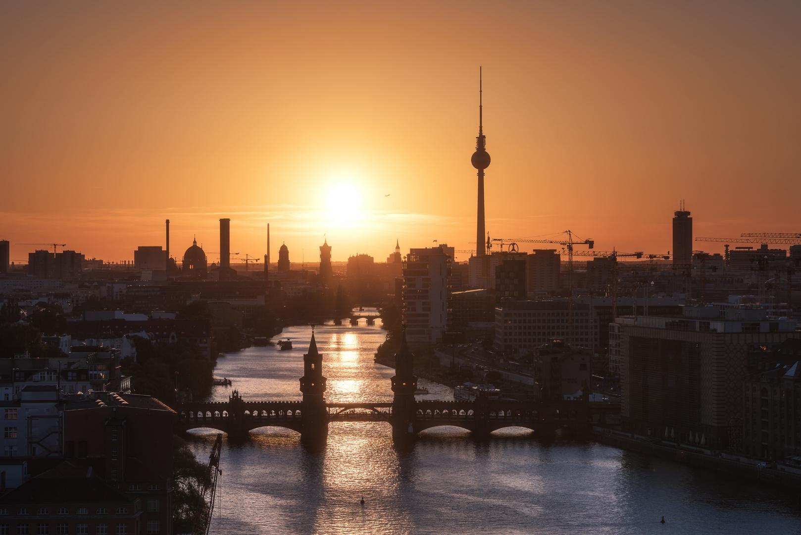 Berlin - Skyline Sunset