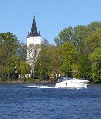 Berlin - Treptower Park an der Spree (Bild2)
