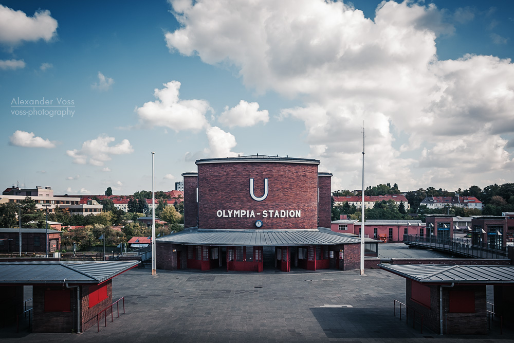 Berlin - U-Bahnhof Olympia-Stadion