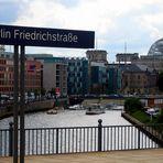 Berlin von der Bahnsteigkante