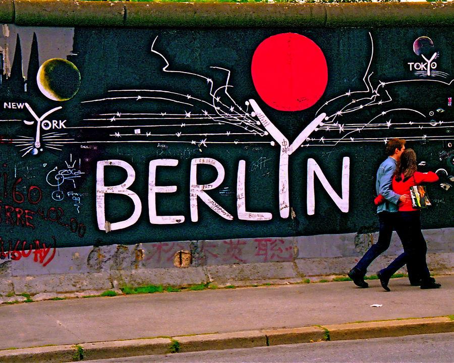 Berlin Wall Strollers