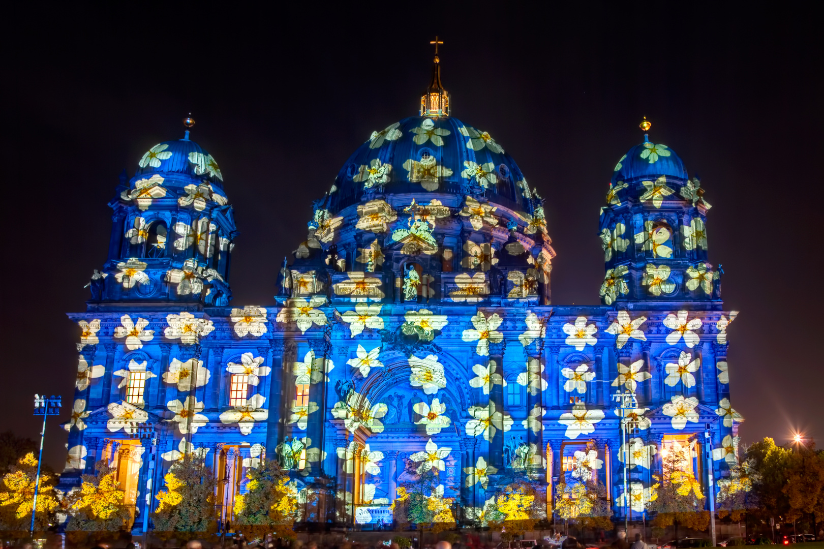 Berliner Dom 2013 Festival of lights