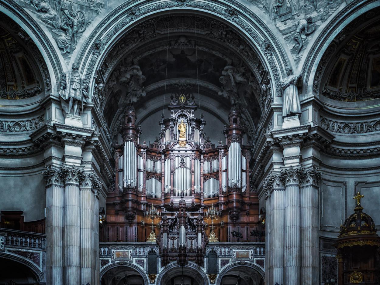 Berliner Dom Die Orgel Foto Bild Kunstfotografie Kultur