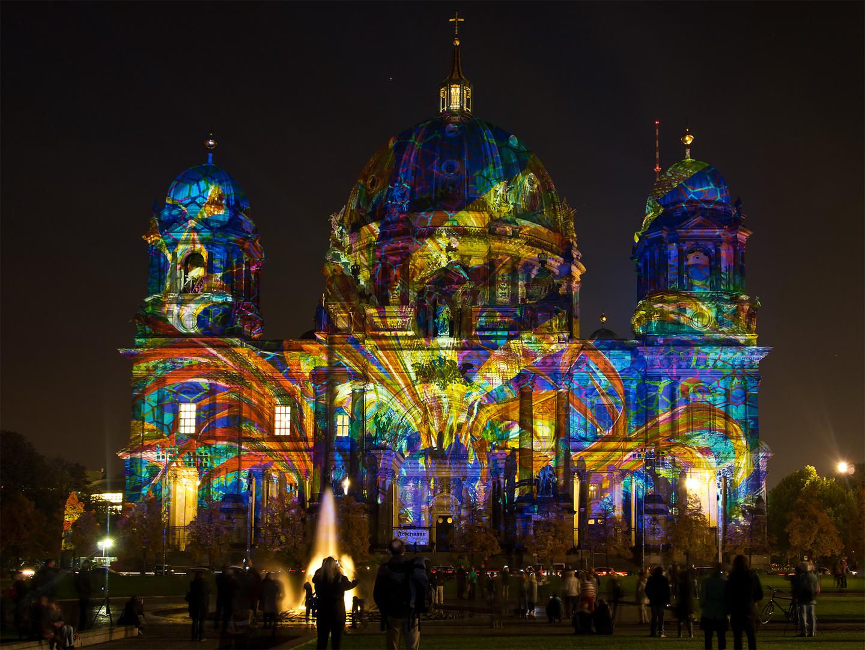 Berliner Dom - Festival of Lights 2013