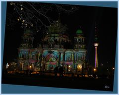 Berliner Dom in einer Kitsch-Aufmachung