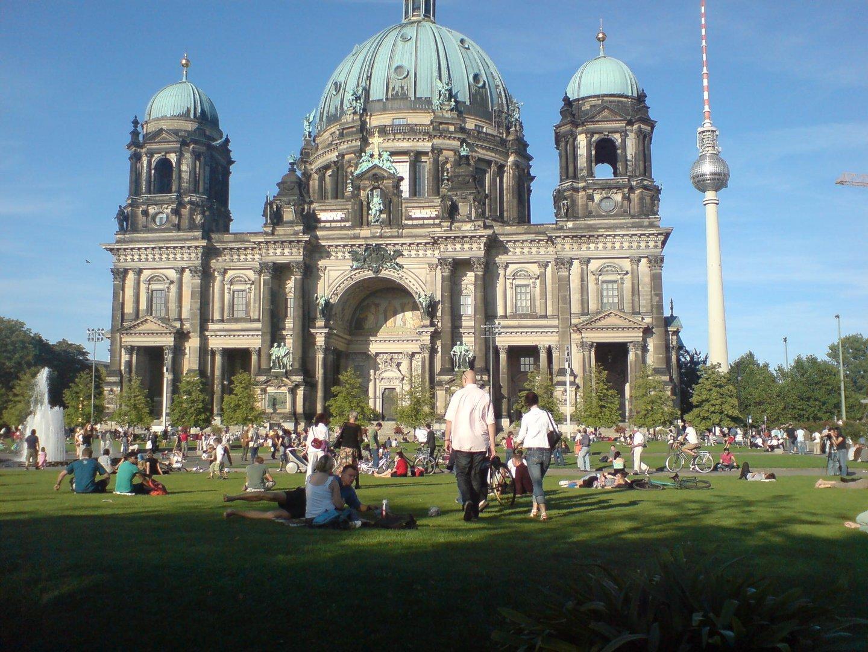 Berliner Dom Nach Dem Konzert Vor Der Staatsoper Am 31082008