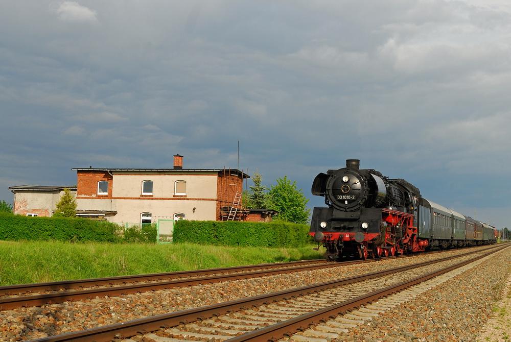 Berliner Eisenbahnfreunde Zu Gast In Thüringen Foto Bild
