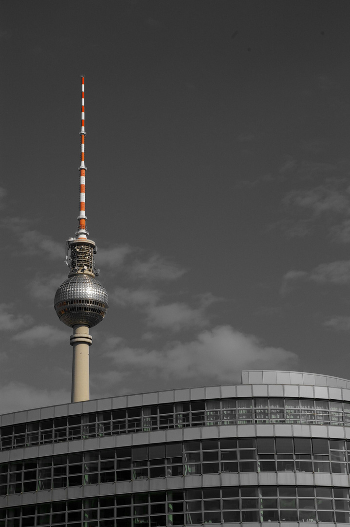 Berliner Fernsehturm Foto Bild Architektur Stahlbau Berlin