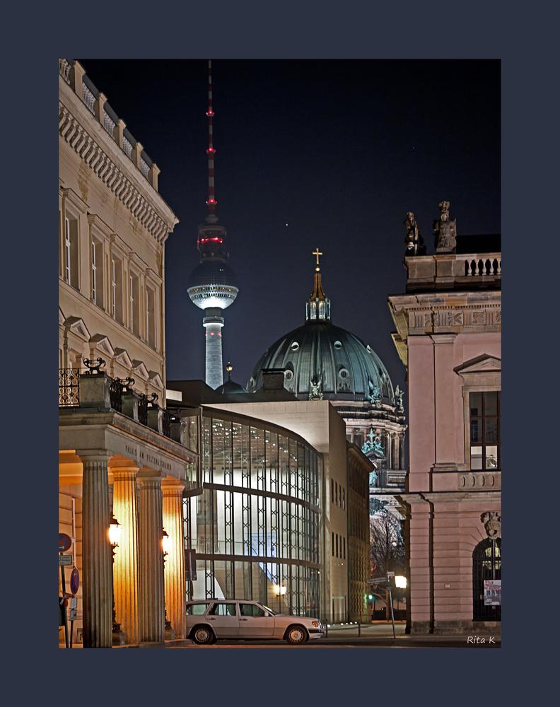 Berliner Highlights auf einem Blick