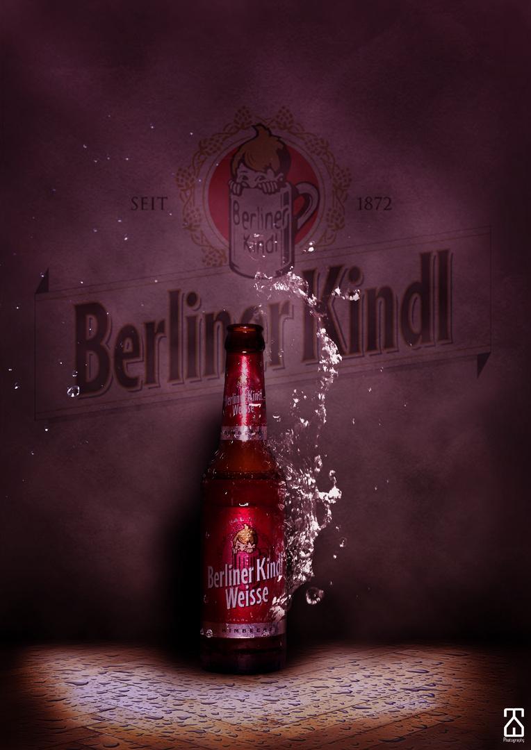 Berliner-Kindl Werbefoto