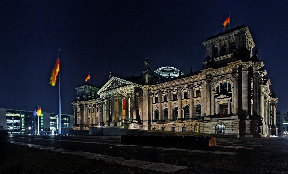 ... Berliner Nacht Ansichten ...