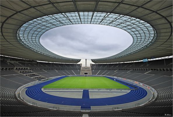 Berliner Olympiastadion Umbau