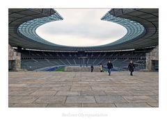 """Berliner Olympiastadion  """" aus meiner Sicht..."""""""