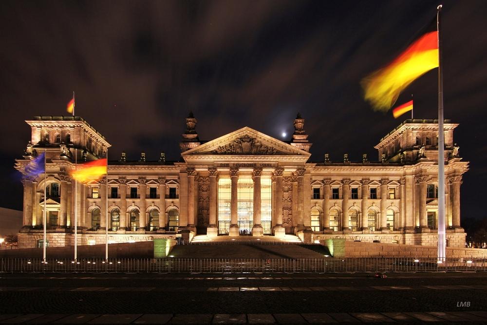 Berliner Politik-Gebäude