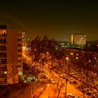 Berliner Siedlung am Heiligabend 2006