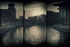 Berliner Sonnenuntergang