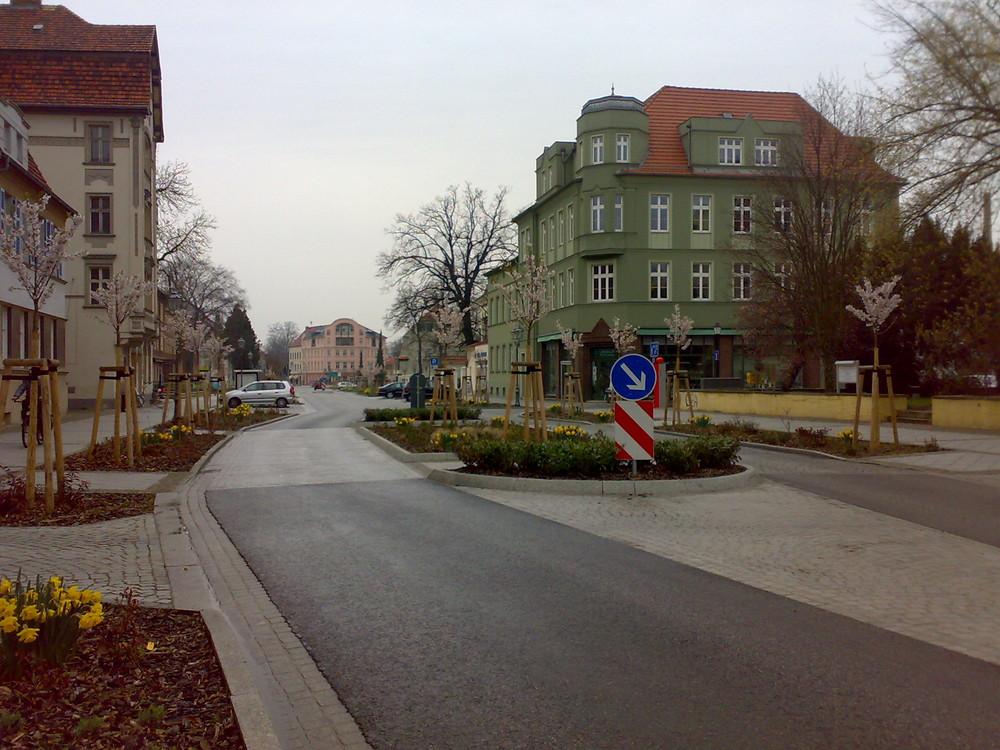 Berliner Straße in Guben