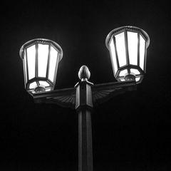Berliner Straßenbeleuchtung