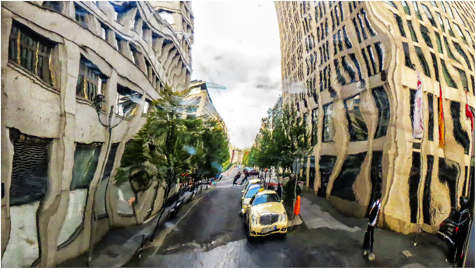 Berliner Straßenszene ... Foto & Bild | spezial, architektur ...