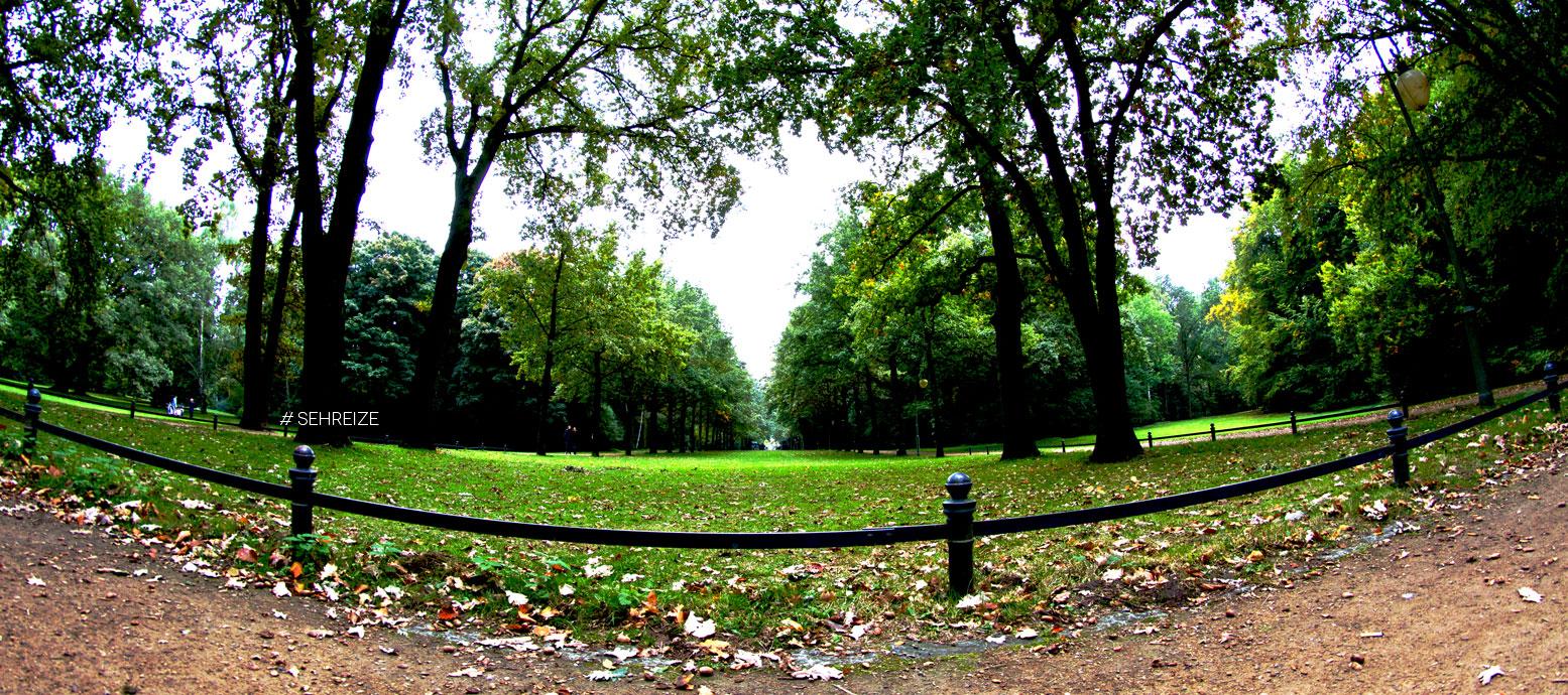 Berliner Tierpark im Herbst