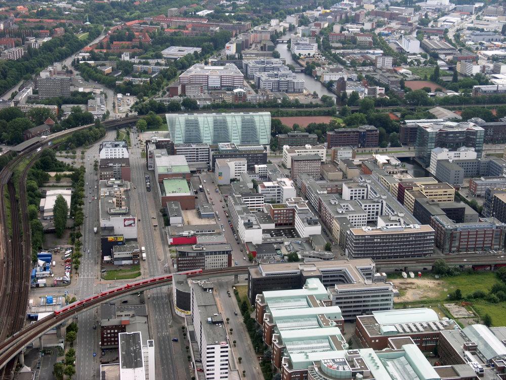 Berliner Tor und City Süd
