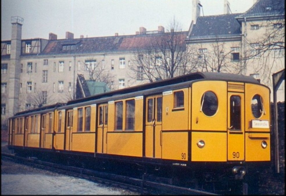 Berliner U-Bahn Baureihe B1