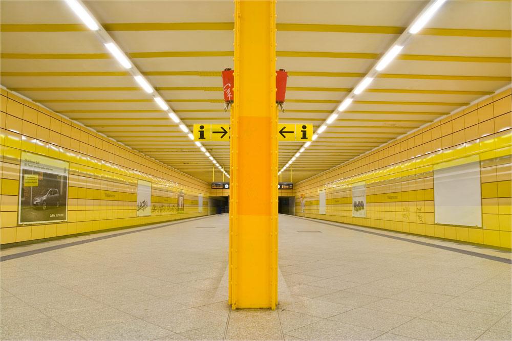 Berlins Untergrund in Farbe