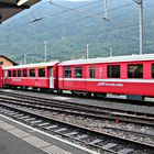 Bermina train at Tirano station