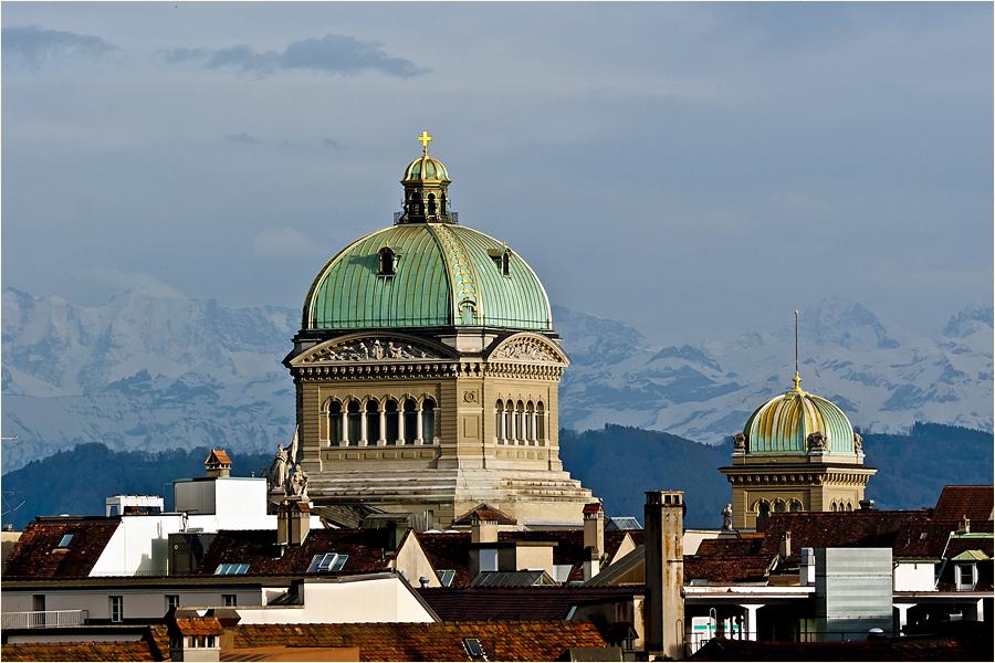 Bern, Bundeshauskuppeln