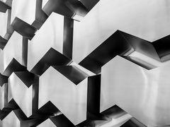 Bern - Grafik im Treppenhaus