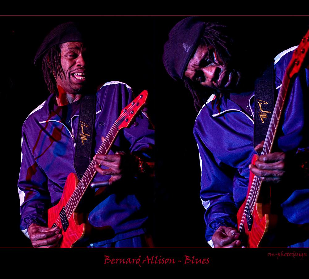 Bernard Allison - playing Blues