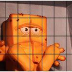 Bernd hinter Gittern